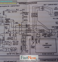 wiring diagrams and schematics appliantology rh appliantology smugmug com compressor current relay wiring diagram embraco compressor wiring diagram [ 1280 x 960 Pixel ]