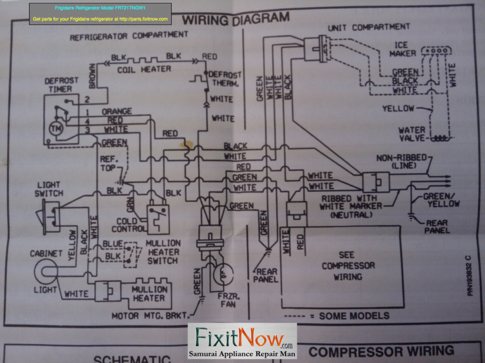 medium resolution of wiring diagrams and schematics appliantology rh appliantology smugmug com compressor current relay wiring diagram embraco compressor wiring diagram