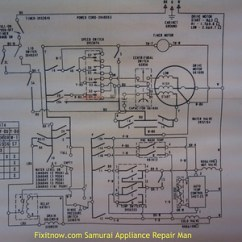 Kenmore Washer Wiring Diagram Lennox Furnace Thermostat Diagrams And Schematics Appliantology Whirlpool Direct Drive With Double Pressure Switches Drain Valve Coil
