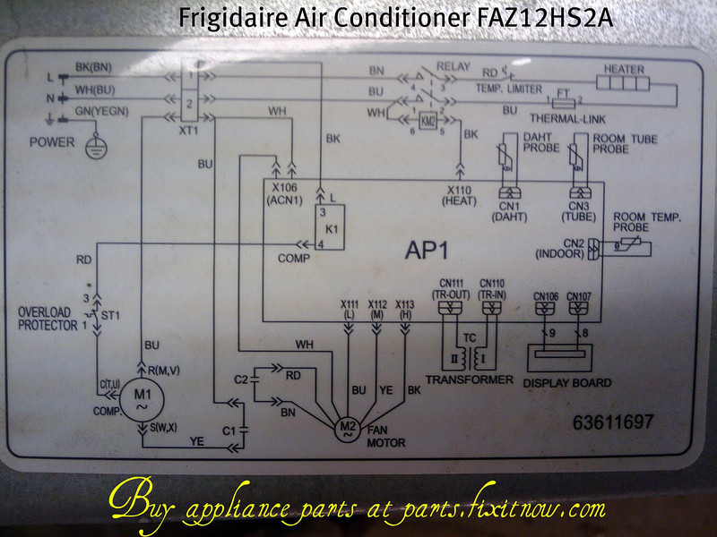 Diagram Hitachi Split Ac Wiring Diagram