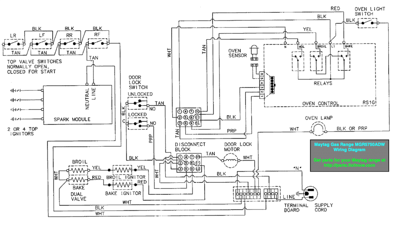 4912312427_b884217d8b_o X2 ge stove wiring diagram ge range wiring diagram at bakdesigns.co