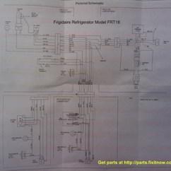 Ge Refrigerator Wiring Diagram 2003 Chevy Diagrams And Schematics Appliantology Frigidaire Model Frt18 Schematic