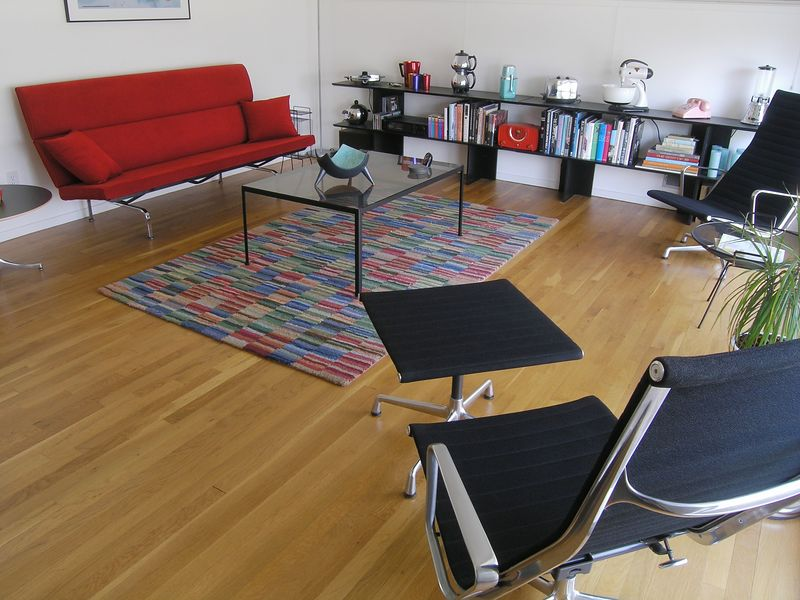 eames sofa compact long table bar mid century williamshotts and aluminum group chairs by charles ray p4060550 c
