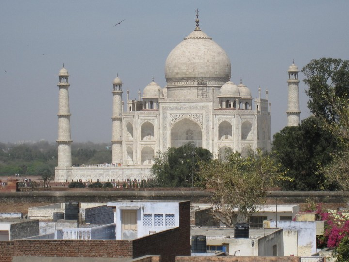 best views of the taj from agra