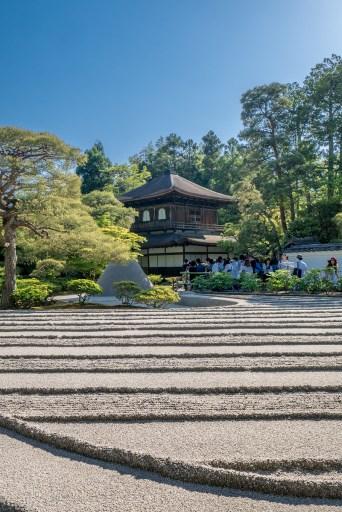 Ginkaku-ji Temple sand garden