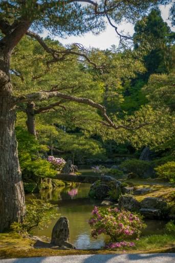 Ginkaku-ji Temple gardens