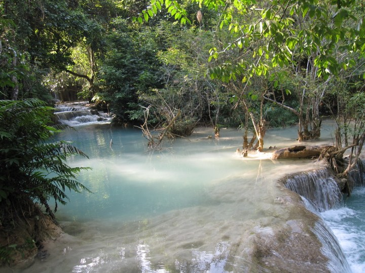 should you visit the kuang si falls in laos?