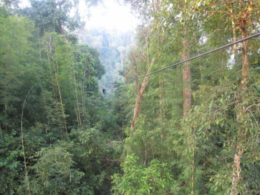 long ziplines in laos