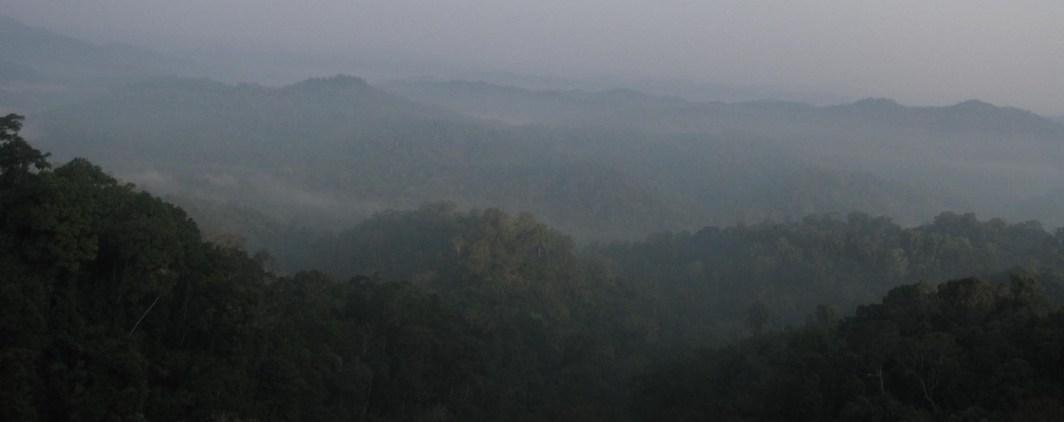ziplining in laos