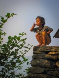 hiking himalayas, nepal