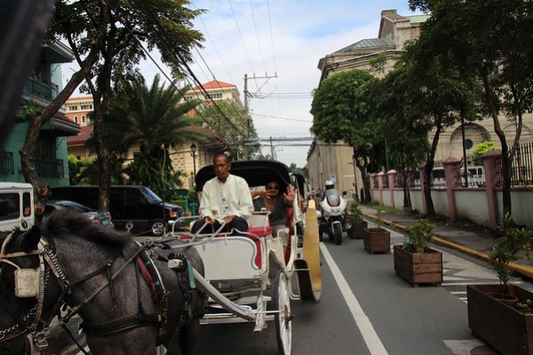 Horse Drawn Carriage in Manila