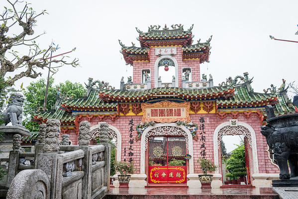 Quan Cong Temple ancient town temples
