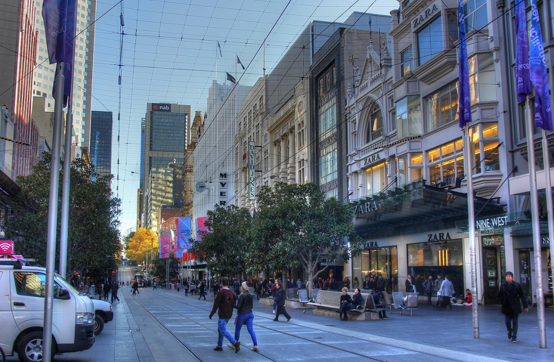 Bourke Street Mall Cafes