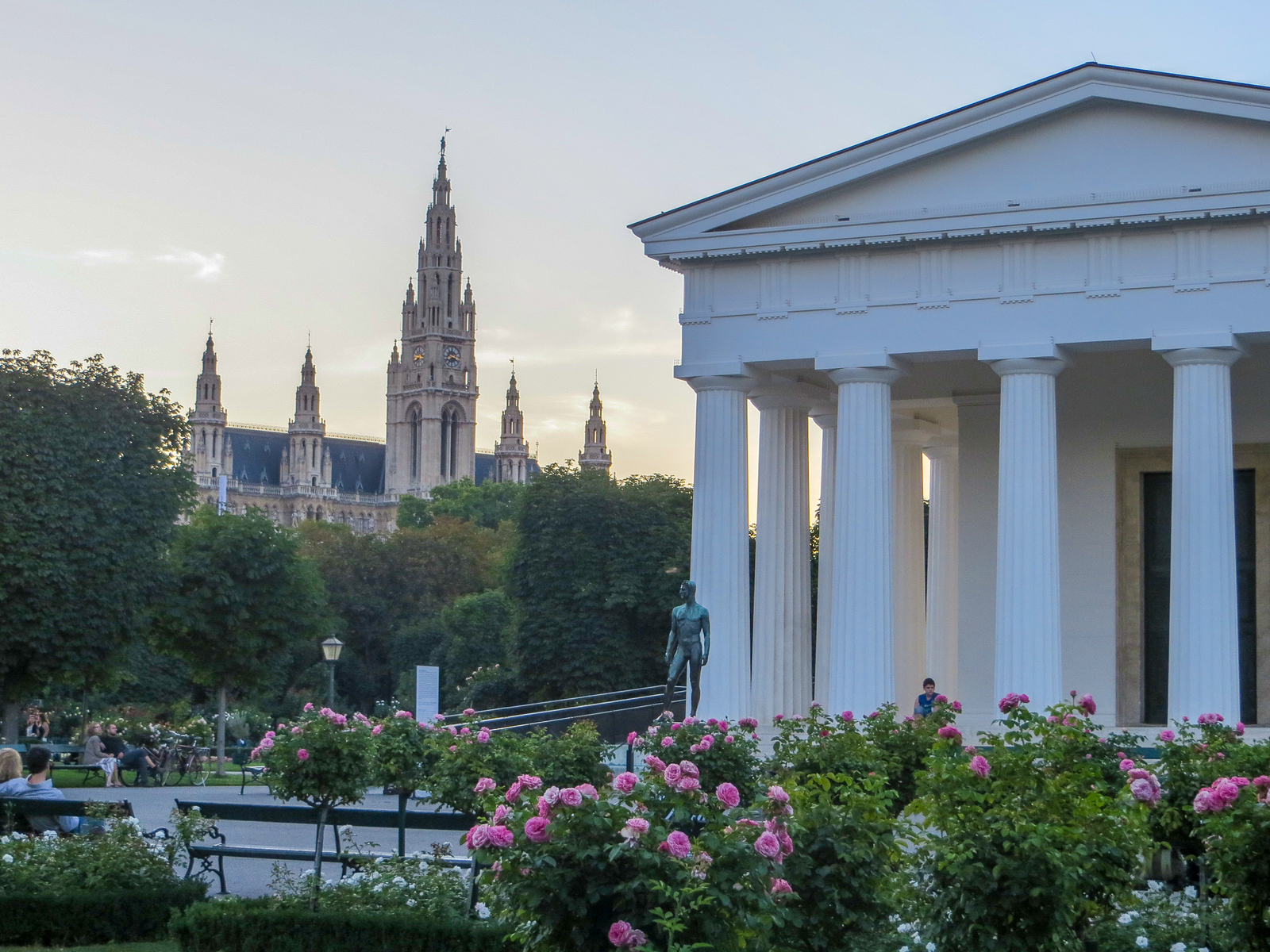 you can explore nearby areas during summer in vienna