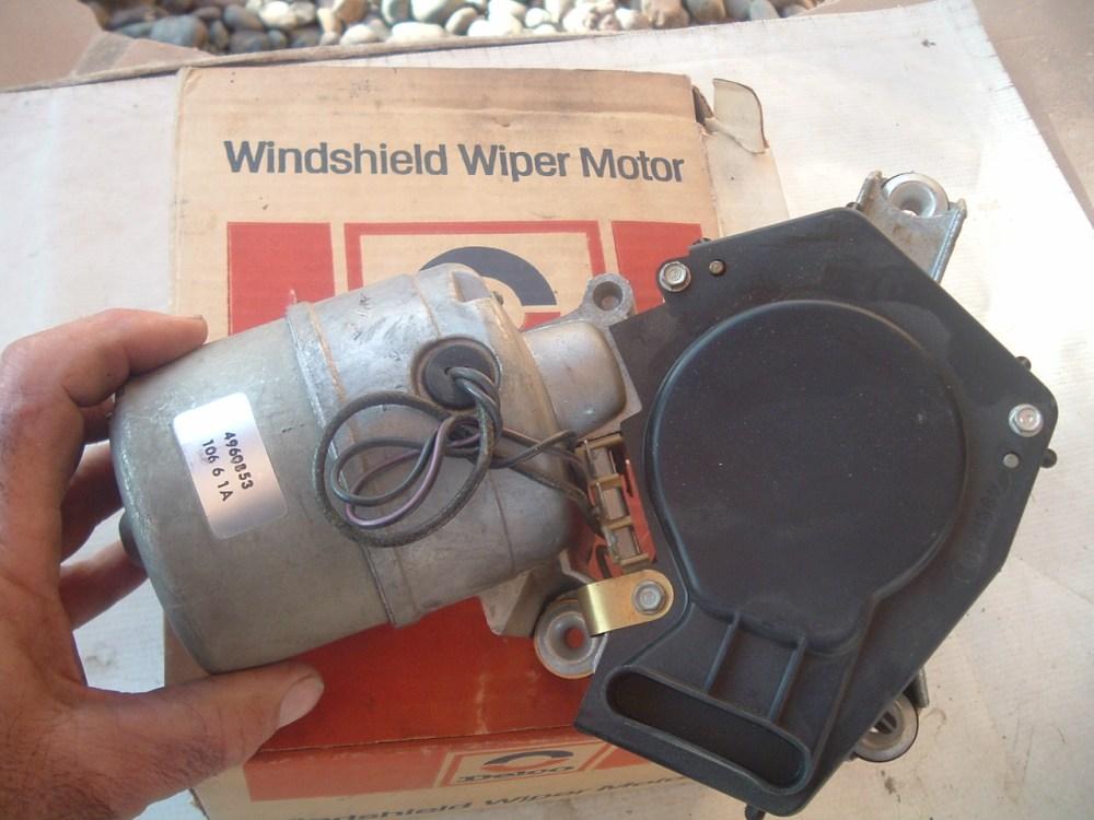 medium resolution of 1973 74 75 76 77 chevrolet truck windshield wiper motor new nos gm 4960853