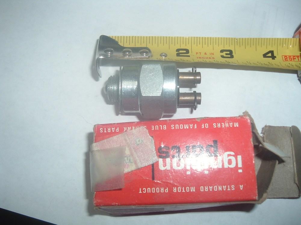 medium resolution of 1950 53 55 57 58 59 62 chrysler dodge plymouth new neutral safety reverse switch mopar 1343998