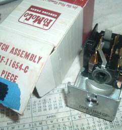 1960 61 62 ford galaxie mercury headlight switch nos ford c0af 11654 c [ 1280 x 960 Pixel ]