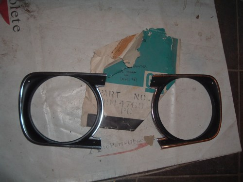 small resolution of view product1968 camaro nos headlight bezel gm 3914770 3914769 z 3914770 69