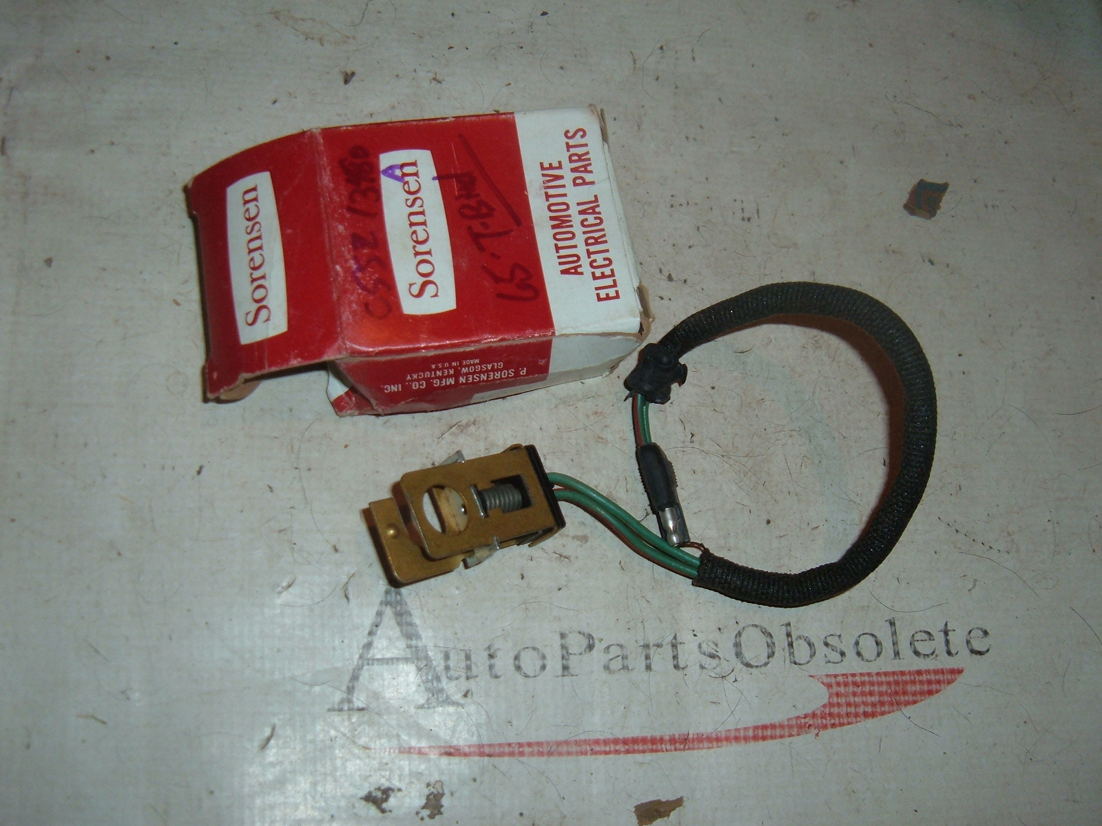 hight resolution of view product 1965 ford thunderbird brake light switch c5sz 13480 a a c5sz