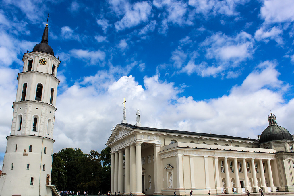 Vilnius is a good place to begin any Europe Backpacking Route