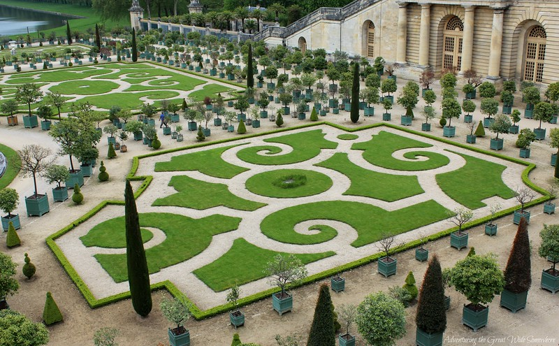 Manicured Hedges and Perfectly Sculpted Lawns at the Gardens of Versailles