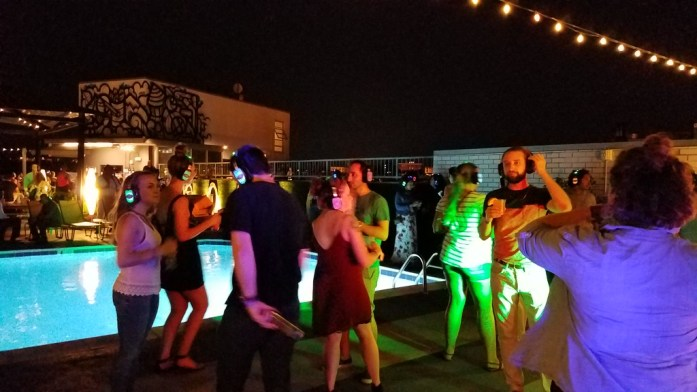 Rooftop Dance Floor at the Embassy