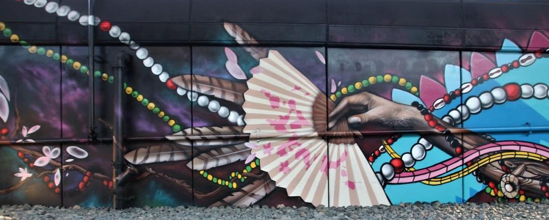 Beautiful mural Boston, MA