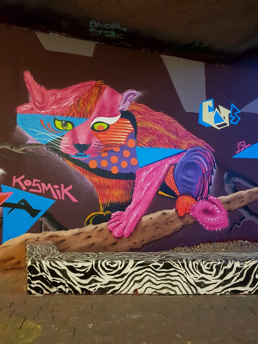 Street Art Chat Interview with Kosmik One - What is your favorite piece & why?