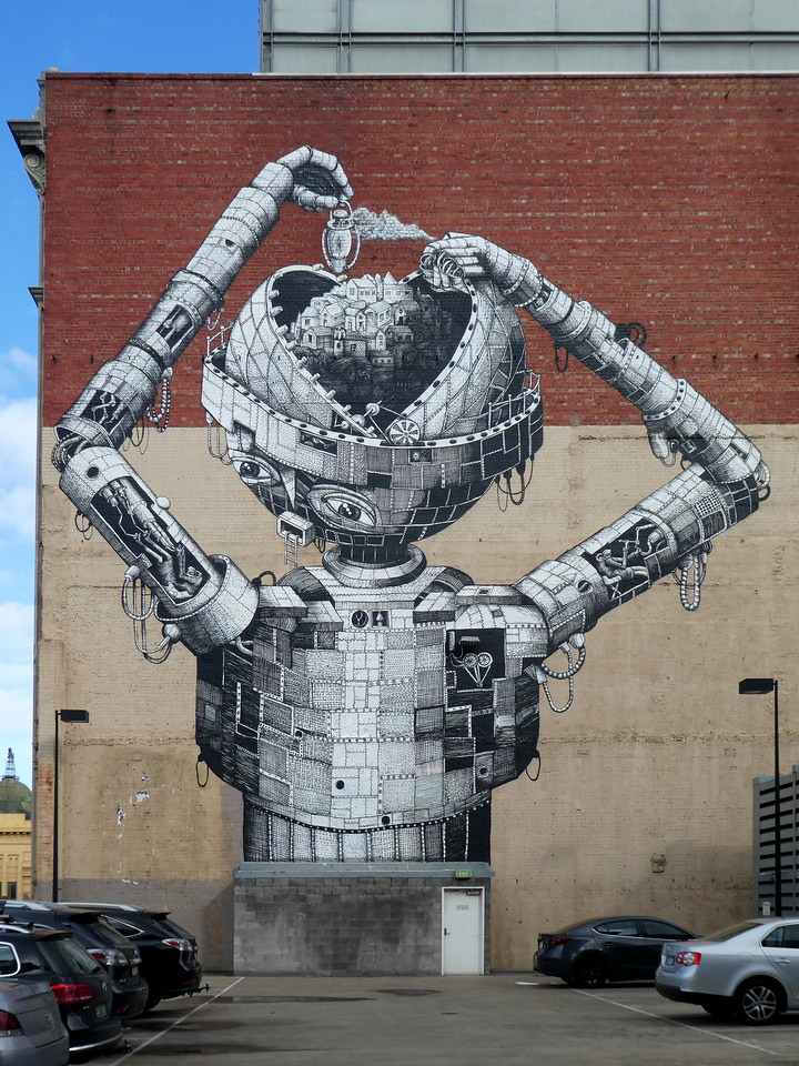 Robot in Prahran - Where to find some of the best street art in Melbourne - StreetArtChat.com