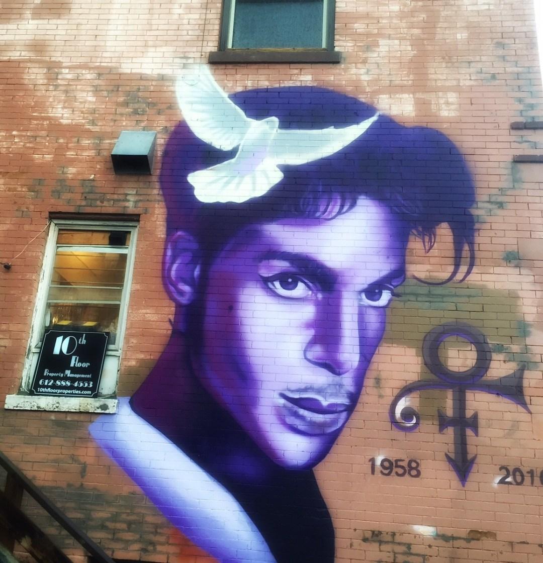 Best Minnesota Street Art of Prince by Third Eye Mom