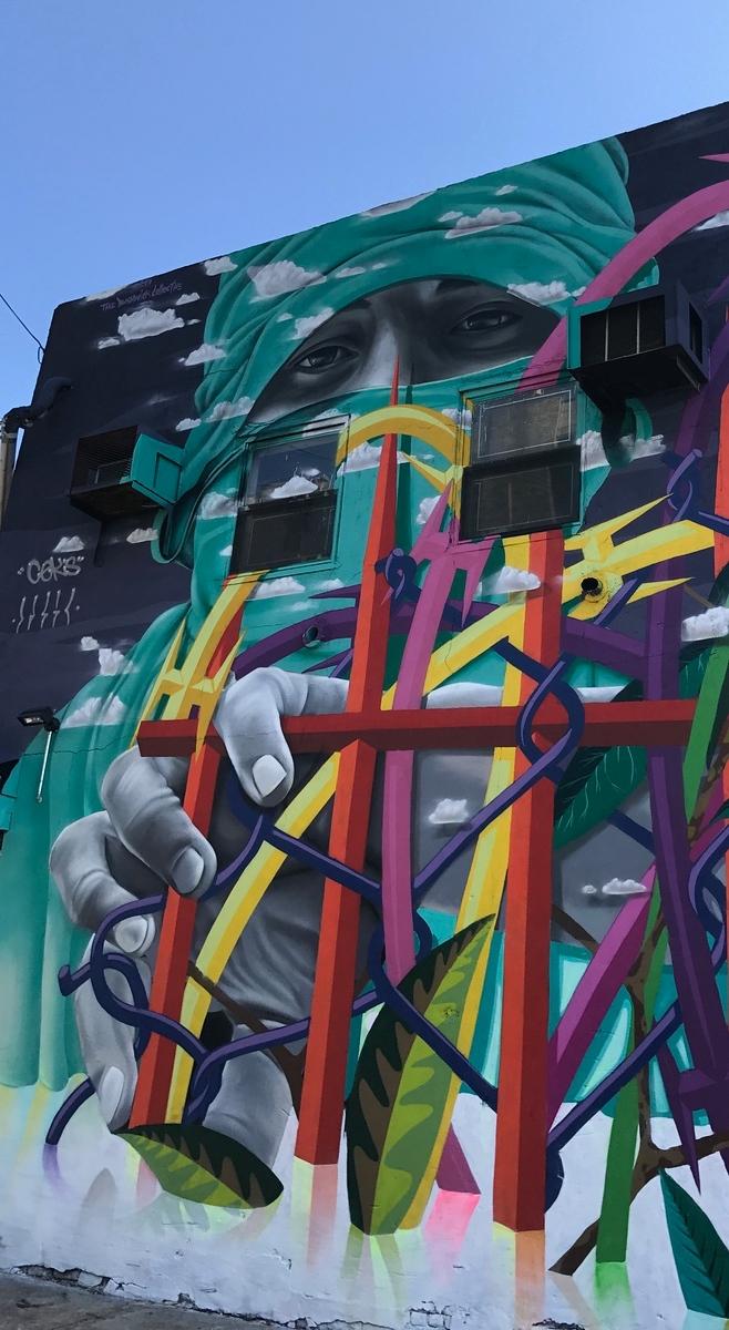 Best New York City street art by Dasic Fernandez