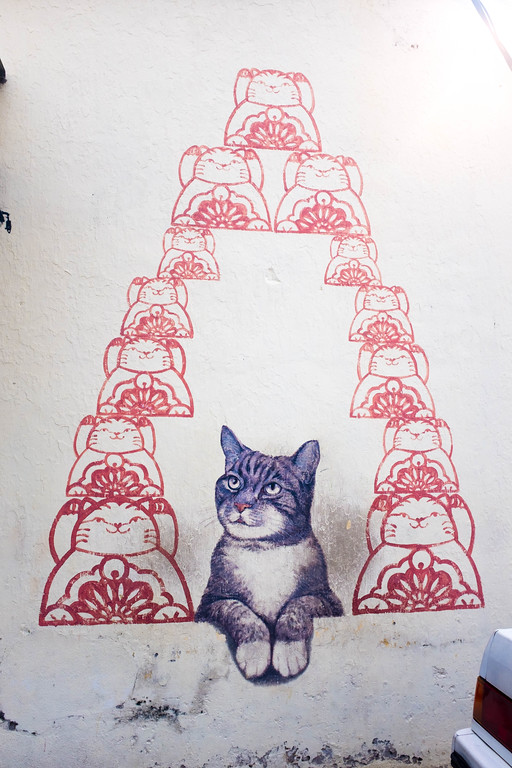 Artists for stray animals - Fortune Cat