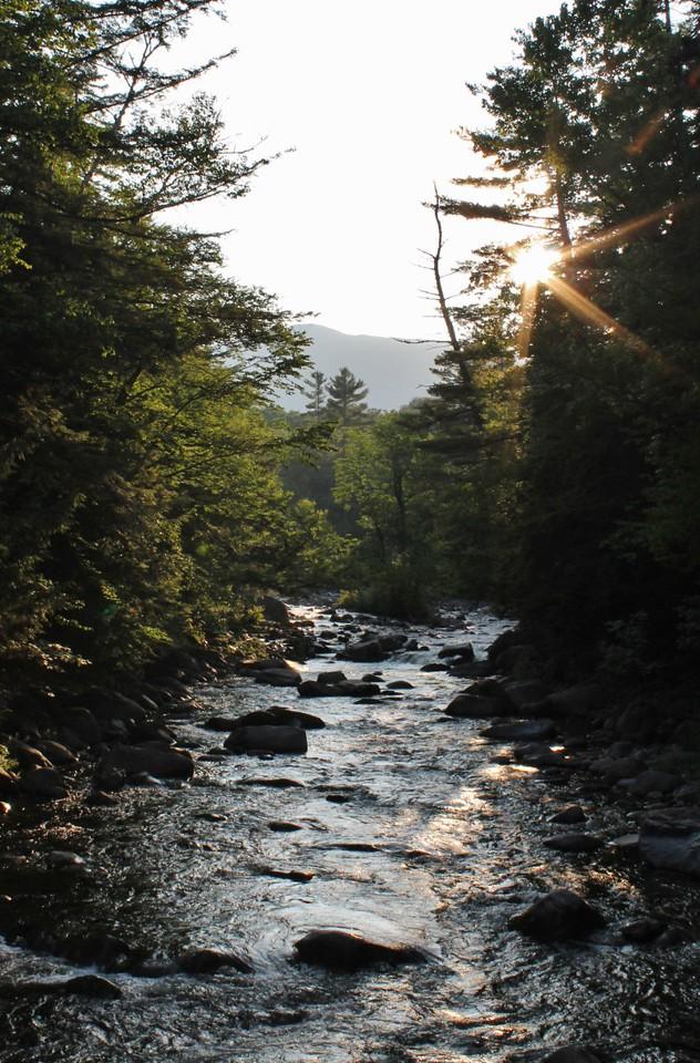 Beautiful stream on the Bonds trail