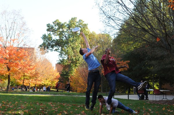 Image result for fall frisbee