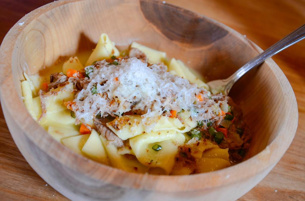 Braised Lamb Pasta at Bonavista Social Club