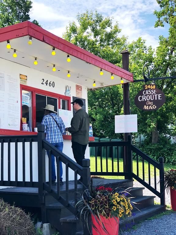 Casse-Croûte Chez Mag on Ile d'Orleans