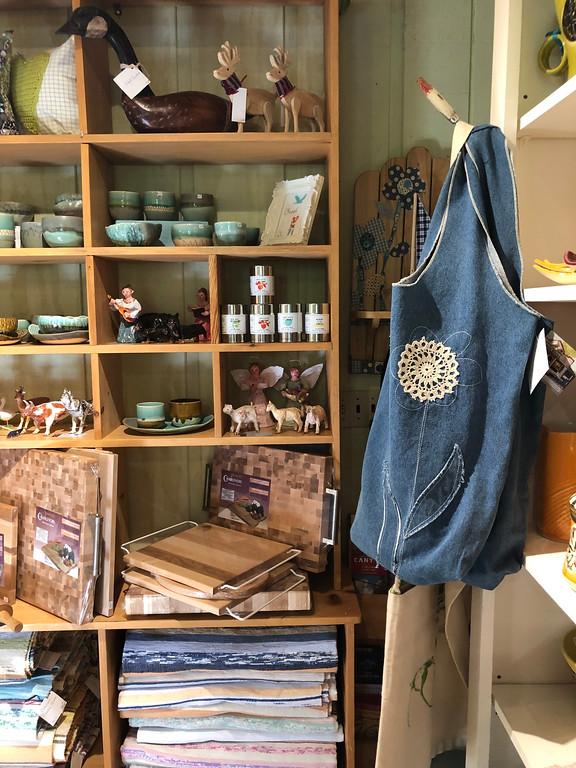 Locally made products at Charlotte