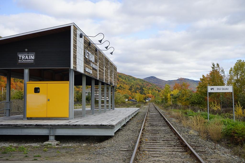 Station for the Charlevoix Train in Saint-Joseph-de-la_Rive