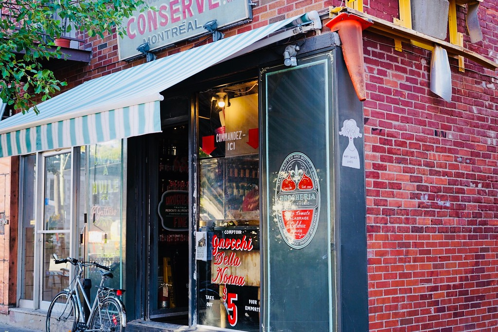 Italian delights in Mile End, Montreal