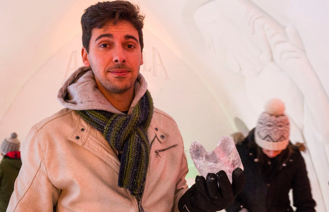 How to survive a night at the Quebec Ice Hotel
