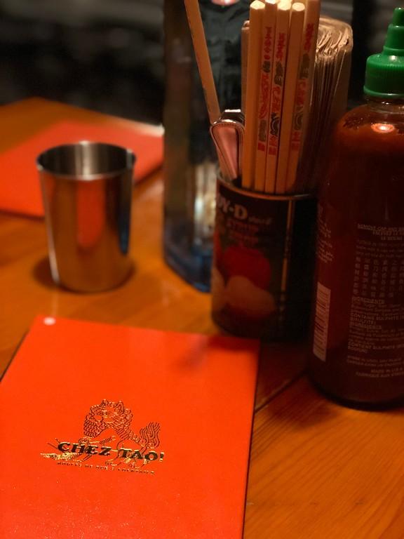 Cocktails and banh mi at Chez Tao
