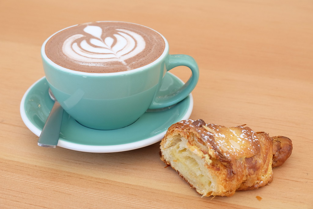 Hot Chocolate at Cafe Saint-Henri
