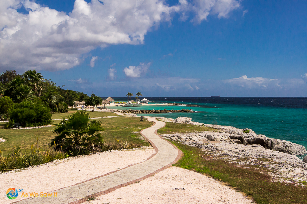Dry climate in Curacao