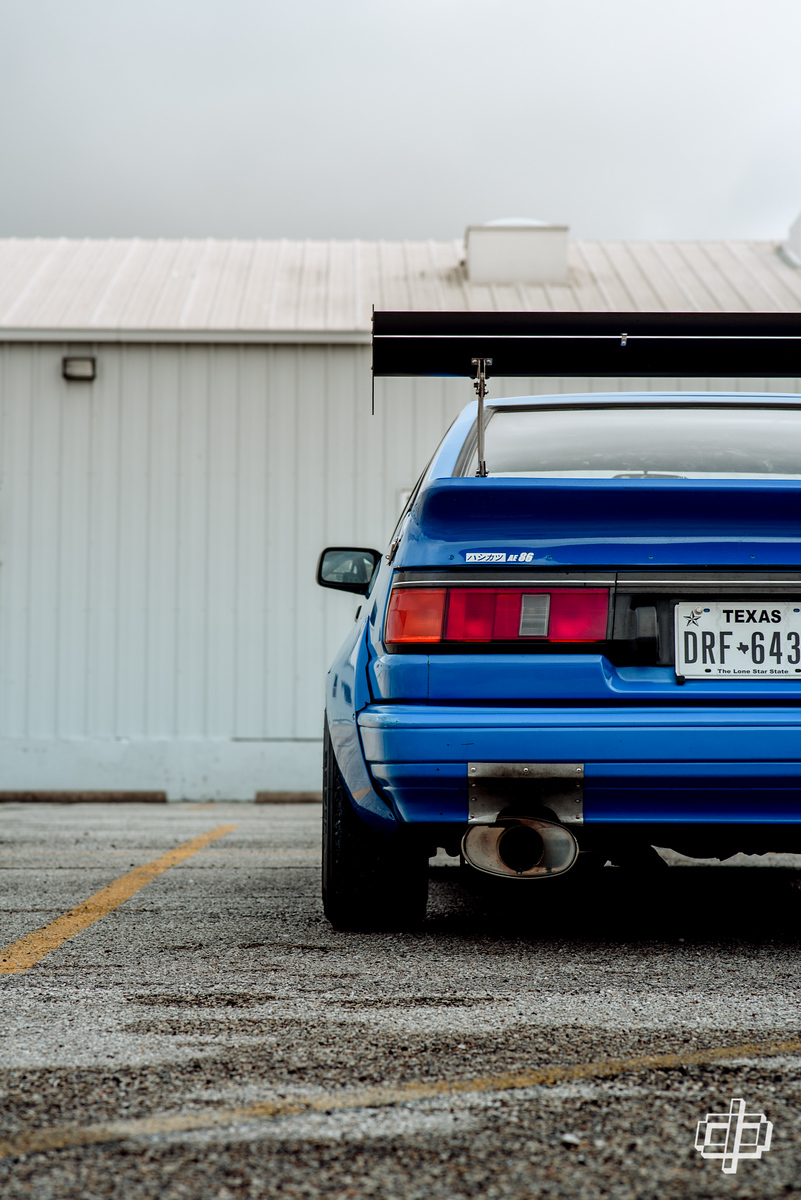ae86 n2 levin hachiroku dtphan the ricer series