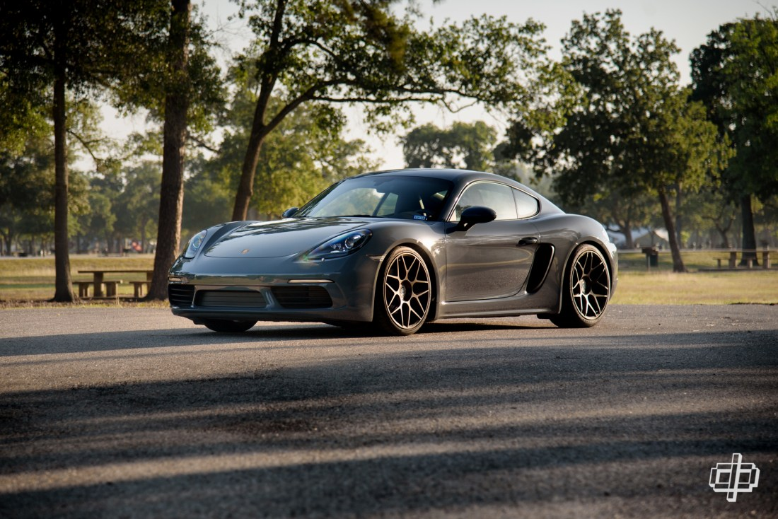Porsche 718 Cayman HRE Flow Form FF01 Wheels