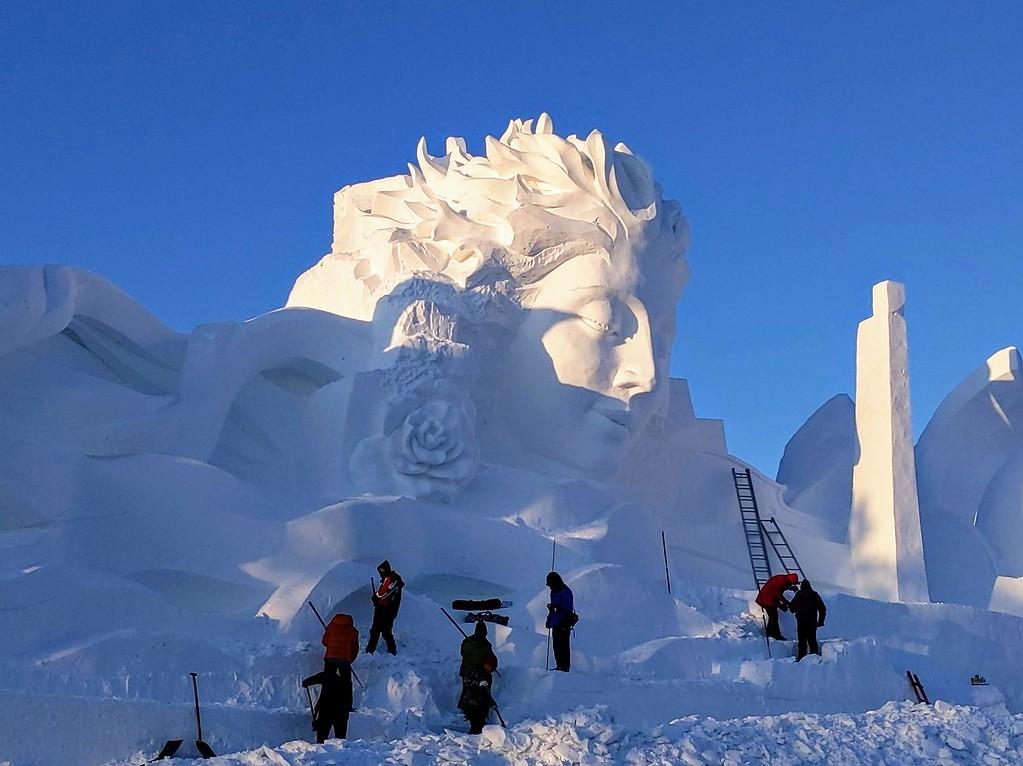 Sun Island International Snow Sculpture Art Expo