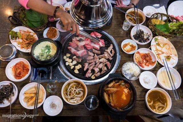 Resultado de imagen de Seoul food