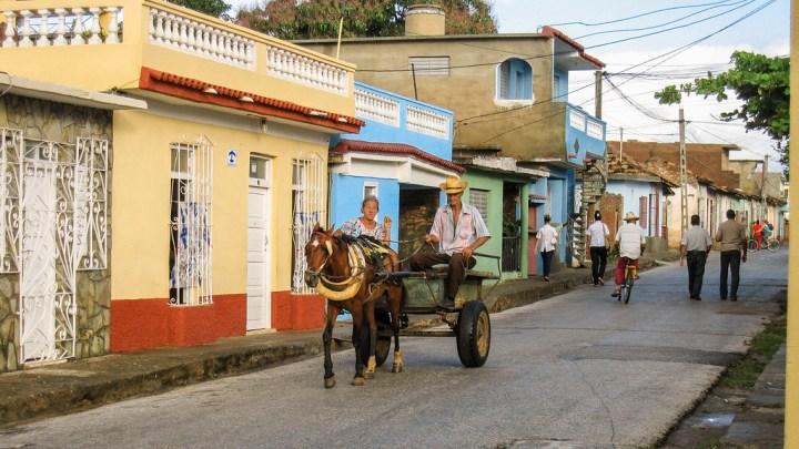 horse carriage in trinidad, cuba