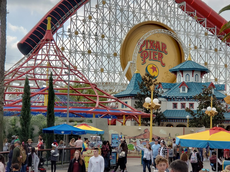 PICTORIAL: Disney Holidays round third plus Pixar Pier, Star Wars, Parking, Downtown Disney and much more!