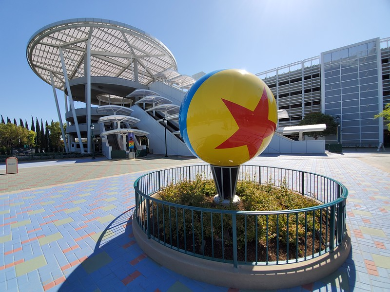 PICTORIAL: Pixar Pals Parking Structure opens, expands Disneyland Resort parking by thousands